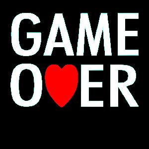 JGA Game Over Junggesellenabschied Junggeselle