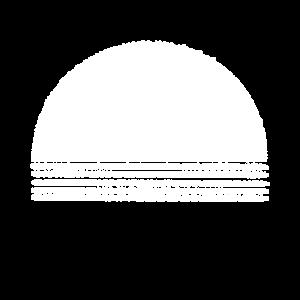 Abstrakt Halbkreis Striche Minimalismus Geschenk
