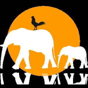 Safari Elefant t Shirt