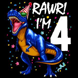 Dinosaurier Geburtstag Geburtstag T Rex