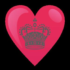 Herz Krone Prinzessin