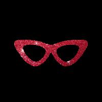 Sonnenbrille Glitzer