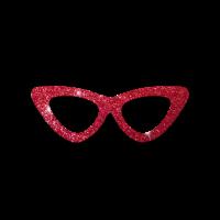 Sonnebrille Glitzer
