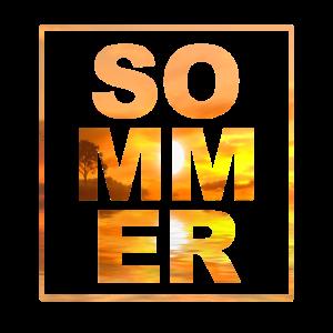 Sonnenuntergang Sommermaerchen Sommer Geschenk