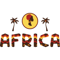 Afrika Safari Geschenk farbenfroh Wild Urlaub