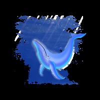 Wal Tierschutz illustration Walfang Walfisch