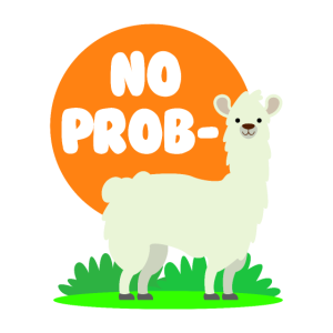 Kein Probllama - kein Drama-Lama