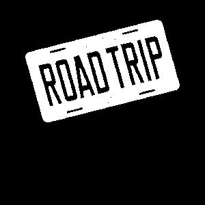 Official Road Trip Shirt I Kennzeichen Party