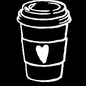 Kaffee, Tasse Kaffee, Kaffee trinken, ich liebe ka