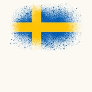 Suède cadeau drôle de drapeau suédois