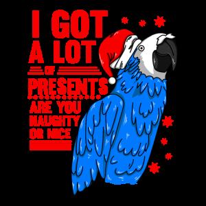 parrot santa Unanstaendiges oder schoenes Top das