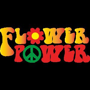 Peace Weltfrieden Flower Power Geschenk 70er Love