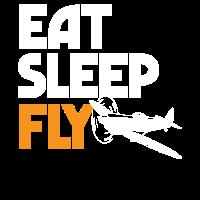 Luftfahrt - Eat Sleep Fly
