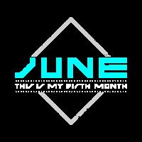 Juni ist mein Geburtsmonat