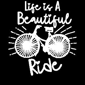 Das Leben ist eine schöne Fahrradtour Geschenkidee
