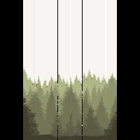 Wald Illustration Kunstwerk