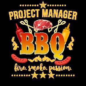 Projekt Manager BBQ Grillen Grill