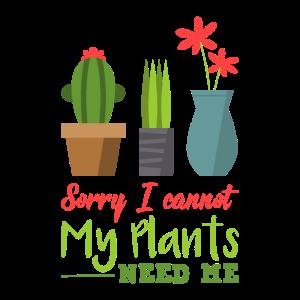 Garten Pflanzen - Meine Pflanzen brauchen mich