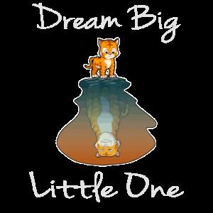 Dream Big Little One Geburt Baby Geschenk Traum