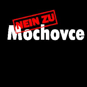 Mochovce Atomkraftwerk Anti Demonstration Geschenk