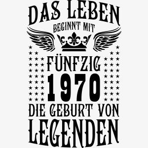 Das Leben beginnt mit 50 Geburt von Legenden 1970