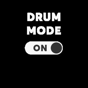 Drum Mode On Drummer T-Shirt