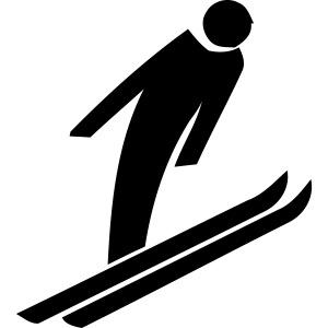 Cool ski jump design