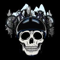 Mountain Bike Berge Wald