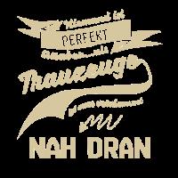 perfekt perfektion Spruch TRAUZEUGE Geschenk
