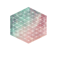 Heilige Geometrie - Hexagon-Raster-Grafik