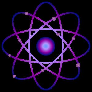 Atom Molekül Wissenschaft Geschenk