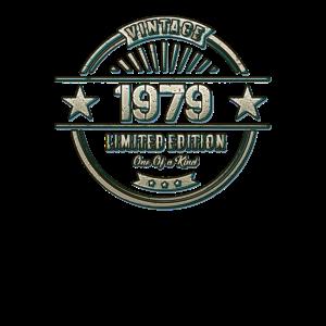 41. Geburtstag Geschenk Top Design Jahrgang 1979