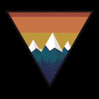 Berge Vintage Bergsteigen Wandern Camping Geschenk