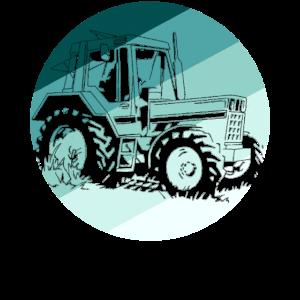 Traktor Landwirt Bauer Landwirtschaft