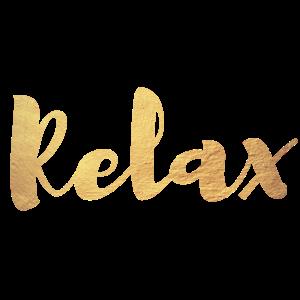 Relax Gold Yoga Meditation Handschrift