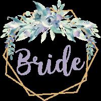 Braut Boho. Floral Bride. Blumen Hochzeit