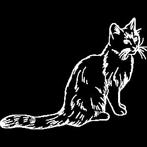 Katzen Shirt · Freche Katze · Süß Geschenk