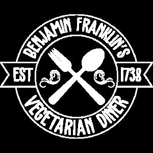 Vegetarian Diner Shirt · Ben. Franklin · Geschenk