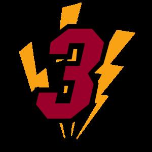 Basketball Nummer 3 Miami Heat