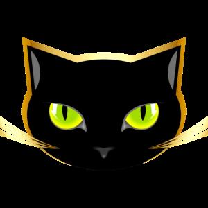 Das Schwarze Katzengesicht