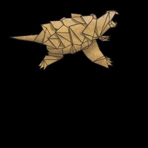 Origami Alligator Schnappschildkröte