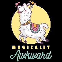 Lama - Mafically Awkward Llama
