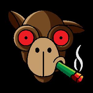 Rauchendes Kamel, geschenk lama dromedar weed 420