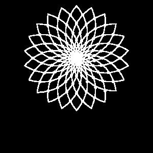 Heilige Geometrie - Lotusblume