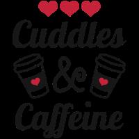 Kuscheln und Koffein