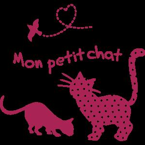 Petit chat, Katze, Herz