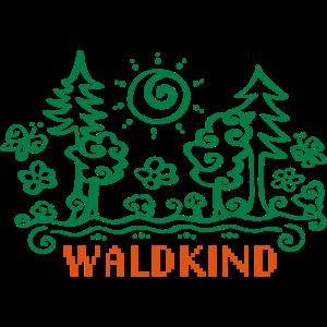 Waldkind Waldkindergarten Natur Wald, 23 Farben