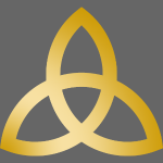Goldene Triquetra