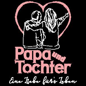 Papa und ältere Tochter - Eine Liebe fürs Leben