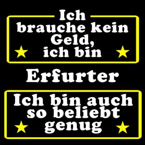 Erfurter beliebt genug